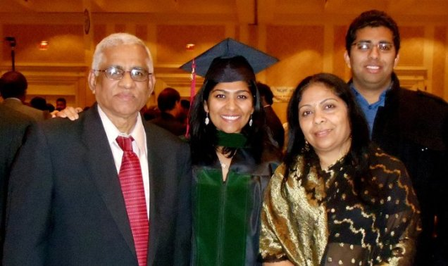 Medical School Graduation with my Family!